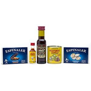 """Espinaler Tapas Geschenkset für 1 Person - """"Allein zuhause"""", in Standard-Box"""